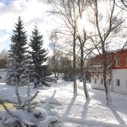 Penzion Dobík v zimě