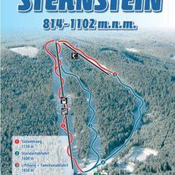 Mapa sjezdovek Sternstein