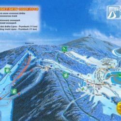 Panoramatická mapa Lipno